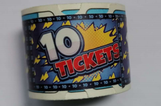 N139-770-000 10 point Treasure Dome ticket roll