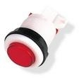 Red and White small round push button