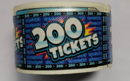 N139-765-000 200 point Treasure Dome ticket roll