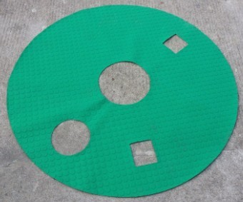 A102-616-000  Base rubber pad
