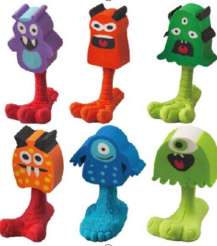 Monster Eraser (6 Style Assorted) 120 pcs to CTN